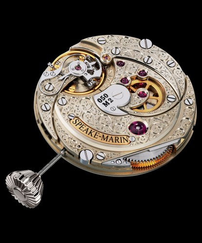 Speake Marin Movement Engraved